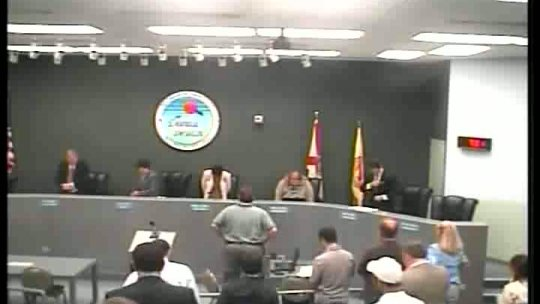08-09-2011 Commission Meeting