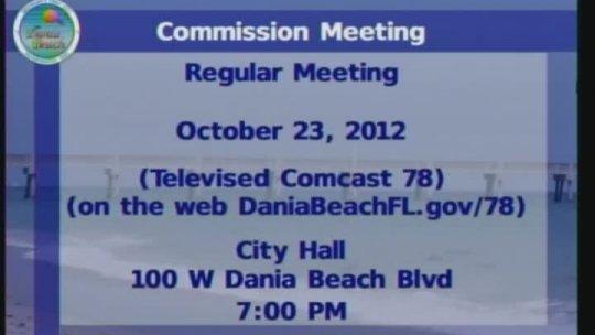 11-07-2012 CRA Board Meeting