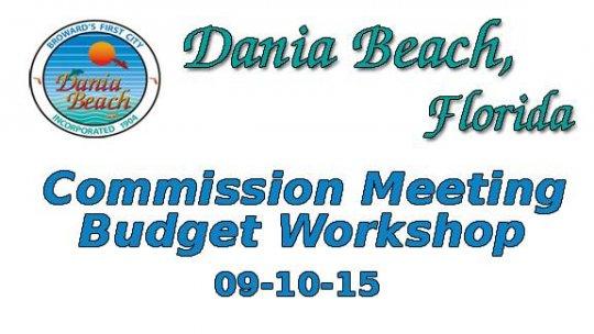 09-10-2015 Commission Workshop