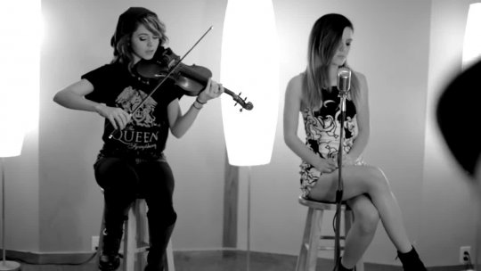 video   BRIGHT ECHOSMITH AND LINDSEY STIRLING   HD 720p
