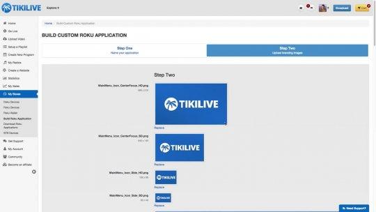 Build Custom Roku application