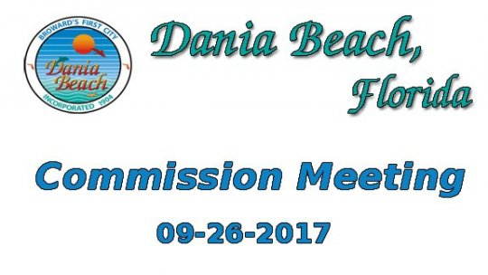 09 26 2017 Commission Meeting