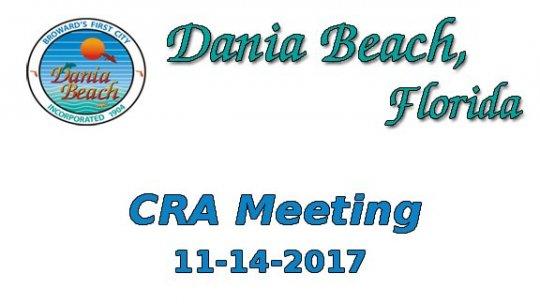 11 14 2017 CRA Meeting