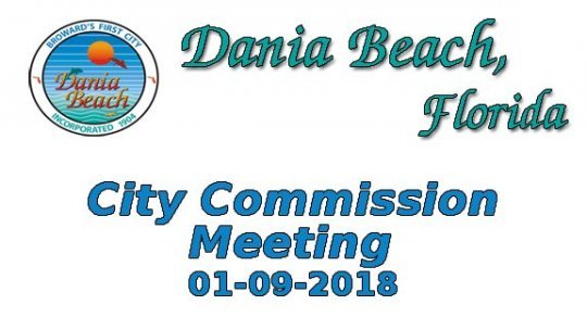 01 09 2018 Commission Meeting